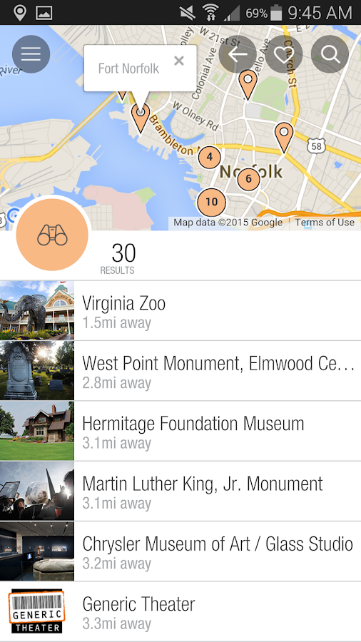 VisitNorfolkVA- screenshot