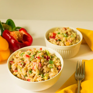 Quick Macaroni & Tuna Salad