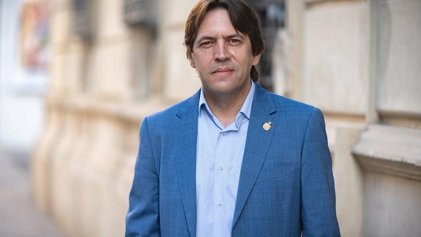 Rafael Burgos, portavoz provincial de C\'s.