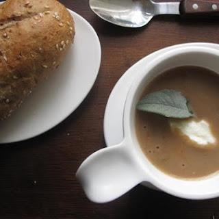 Roast Chestnut Soup