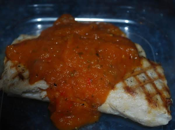 Grilled Mahi Mahi With Papaya Bbq Sauce