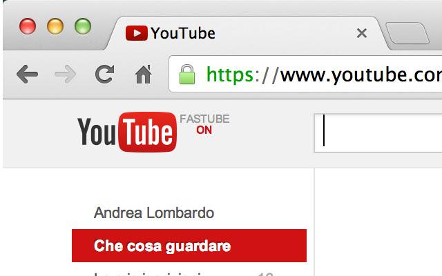 FasTube - Faster YouTube