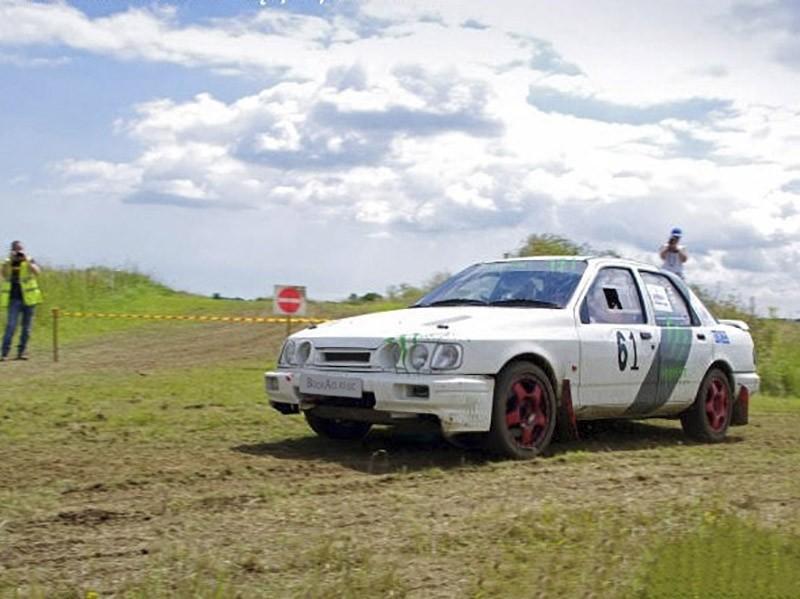 Ford Sierra Cosworth V6 Rally Car Hire Oxford