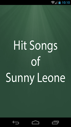 Hit Songs of Sunny Leone