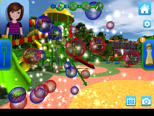 android Crayola Bubbles Screenshot 0