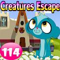 Cute Creatures Escape Game-114