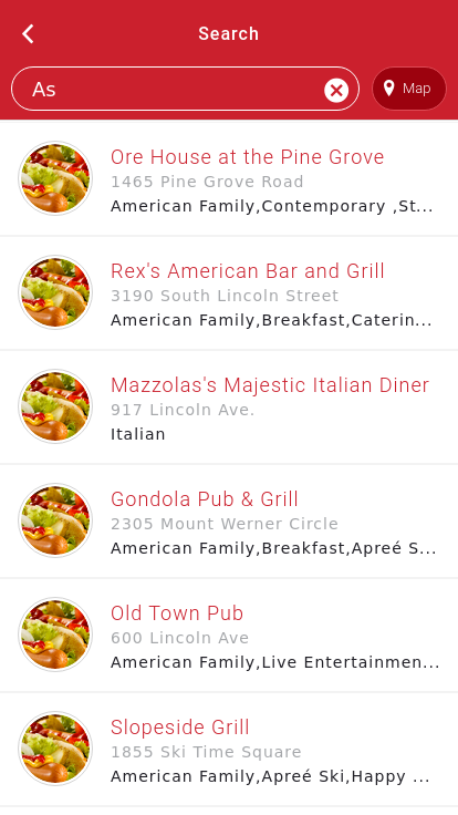 Steamboat Springs Dining Guide- screenshot