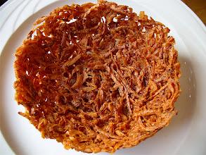 Photo: crispy fried taro basket