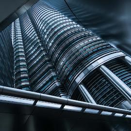 Offices by Varok Saurfang - Buildings & Architecture Office Buildings & Hotels ( klcc, offices, architecture, steel, bridges )