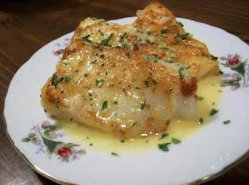 "Lemon Butter Baked Cod ""I made this tonight, and it was delicious!..."