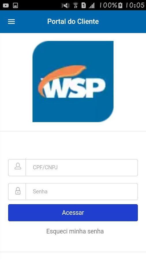 WSP: captura de tela