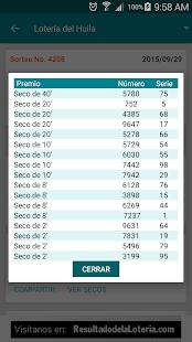 Resultado Loterias Colombia- screenshot thumbnail