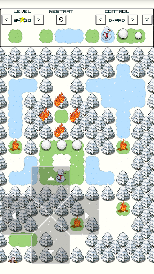Snowman- screenshot