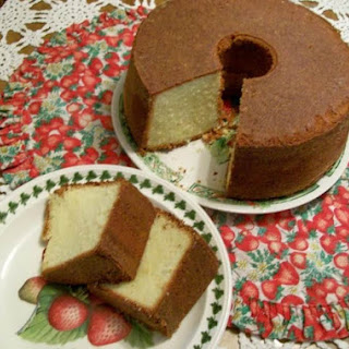 Whipping Cream Pound Cake .