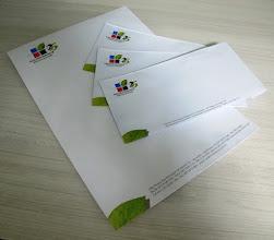 Photo: Envelopes grandes para documentos e para cartas timbrados.