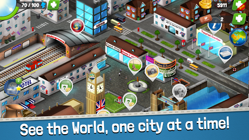 Backpackeru2122 - Travel Trivia Game 1.4.6 screenshots 1