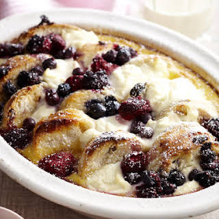 Ricotta and Scone Bread Pudding.