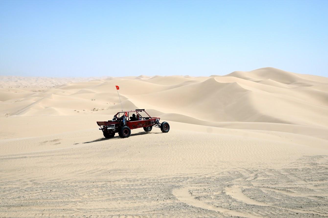 Imperial Sand Dunes, Brawley, California   Womo Abenteuer