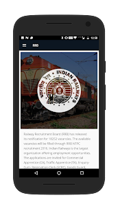 RRB- Railway Recruitment Board- screenshot thumbnail