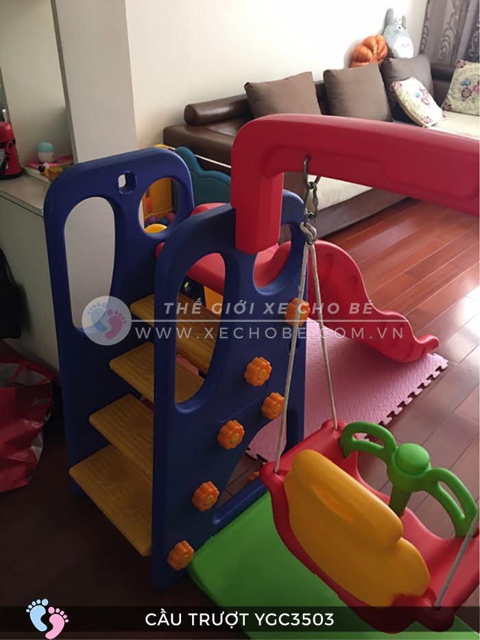 Cầu trượt trẻ em đa năng YGC-3503 11