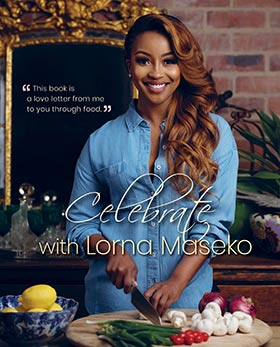 Celebrate with Lorna Maseko.