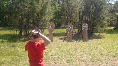 Photo: Throwing range
