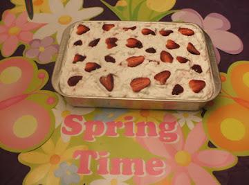 Strawberry Jello Cake Recipe