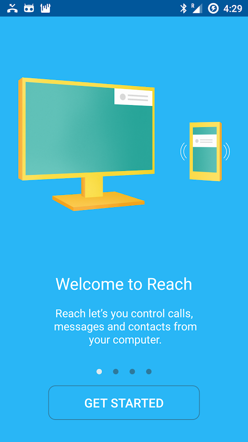 Reach- screenshot