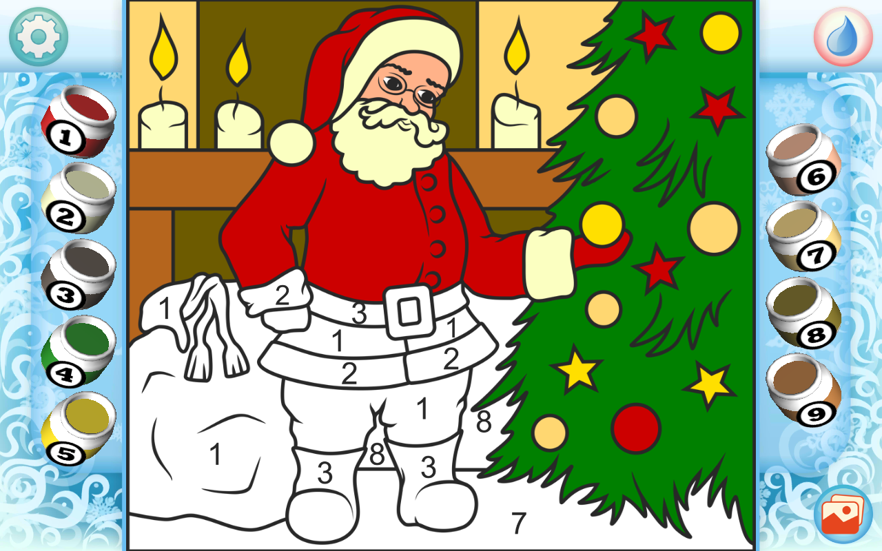 Christmas Coloring Pages- screenshot