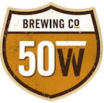 Logo of Fifty West Coconut Coffee Please Nitro Stout