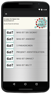 Six Sigma Guide - Basic – Miniaturansicht des Screenshots