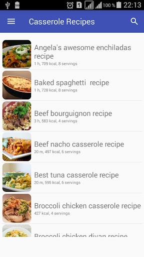 Casserole recipes with photo offline 1.02 screenshots 2