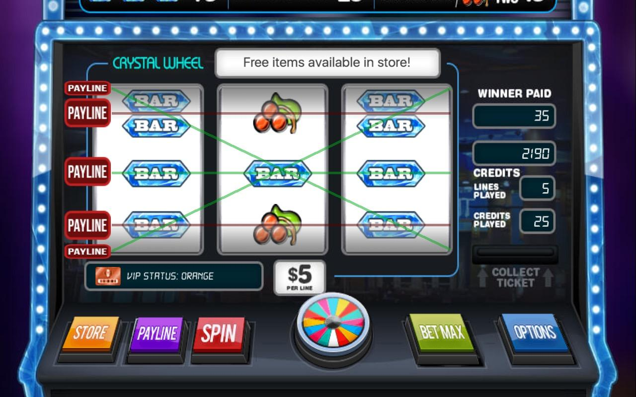 Crystal Wheel Slotss Free- screenshot