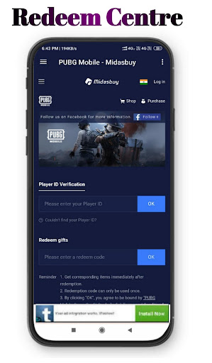 MidasBuy - Topup BC & UC   Free redeem code& gifts 1.7 screenshots 8