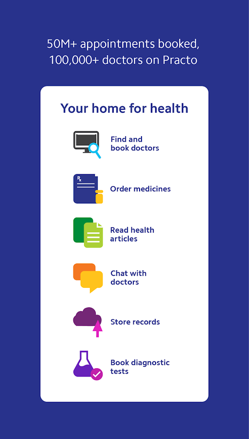 Practo - Your home for health- screenshot