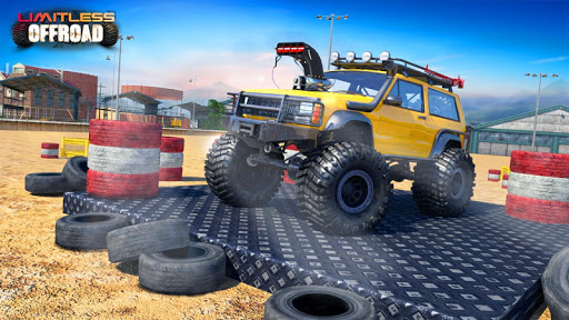Off Road Monster Truck Driving - SUV Car Driving 6.6 Mod screenshots 1