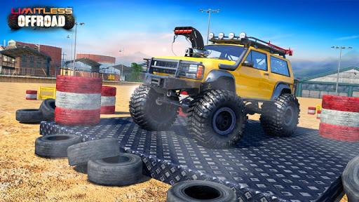 Télécharger Gratuit Off Road Monster Truck Driving - SUV Car Driving apk mod screenshots 2