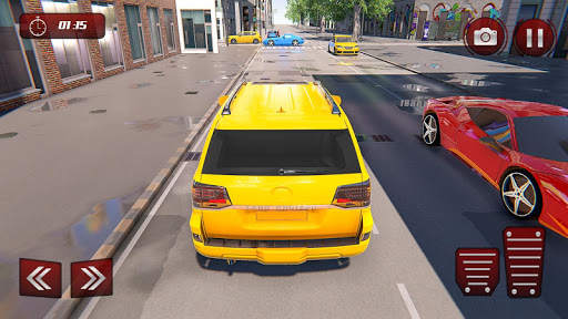 Prado Taxi Car Driving Simulator  screenshots 4