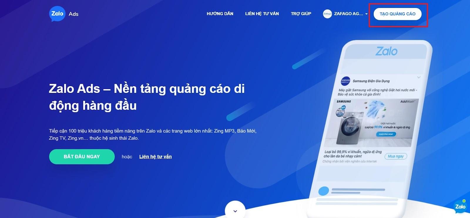 Để tạo quảng cáo website trên Zalo hiệu quả, cần xác định đúng hình thức quảng cáo
