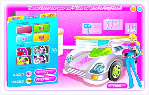 เกมส์แข่งรถ สาวนักซิ่ง