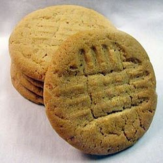 Moist and Chewy Peanut Butter Cookies.