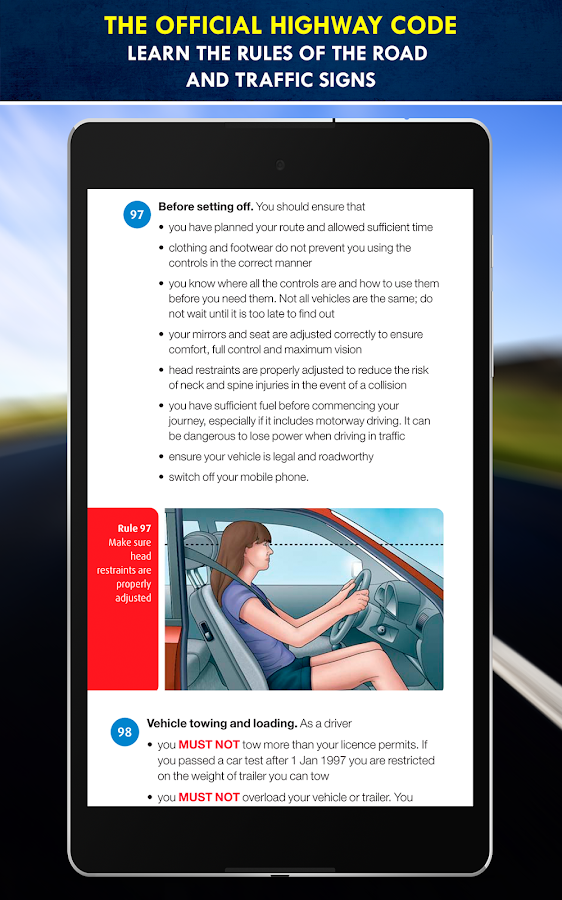 Driving Theory Test Free UK- screenshot