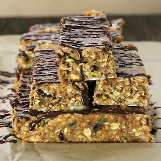 No Bake Granola Bars Recipe {Gluten-Free, Vegan}