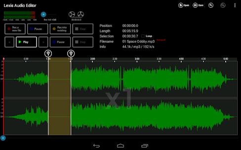 Lexis Audio Editor Mod Apk Latest [Unlocked] 5