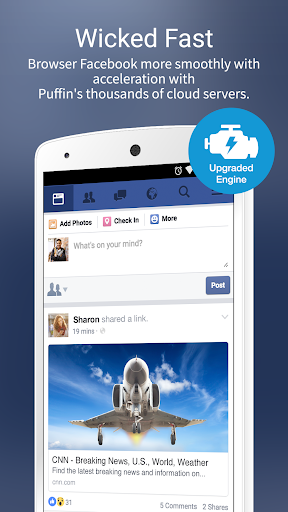 Puffin for Facebook 7.7.2.30541 screenshots 2