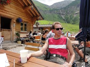 Photo: Lecker Buttermilch auf Dietersbachalpe