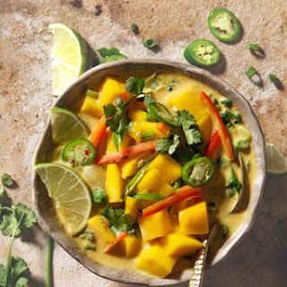 Mango Coconut Curry Soup Recipe