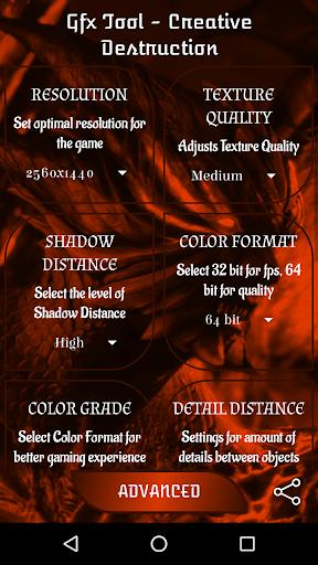 Télécharger Outil GFX pour la destruction créative APK MOD (Astuce) screenshots 1