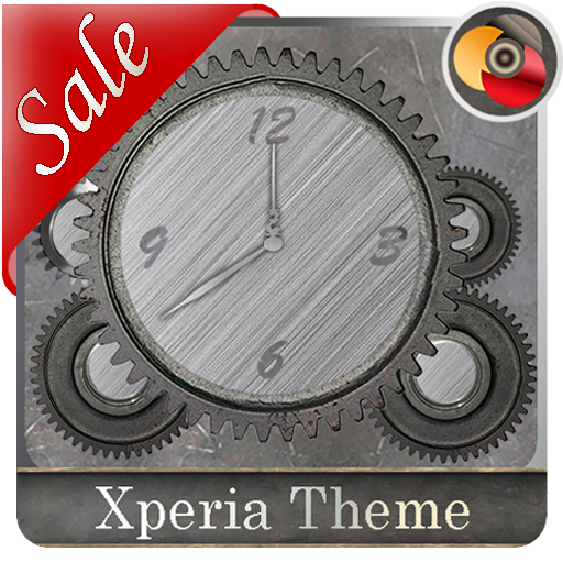 Trees of Gear  (metal live)| Xperia™ Theme + icons