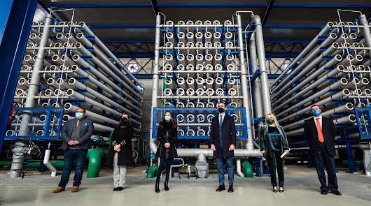 Aqualia producirá 20 hectómetros cúbicos de agua desalada en Rambla Morales